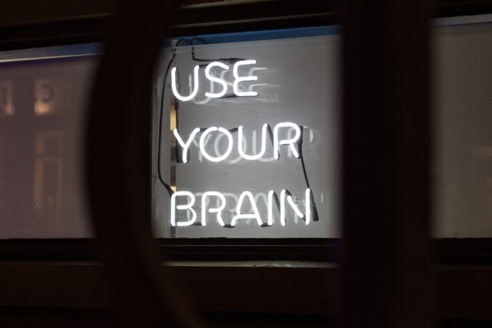 use your brain sign